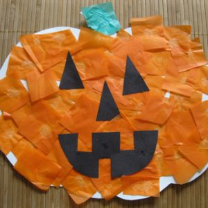 Halloween afj pumpkin activity