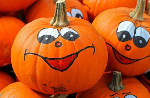 Halloween AFJ Au Pair Pumpkin